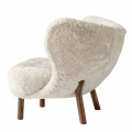 Walnut w. Sheepskin Moonlight